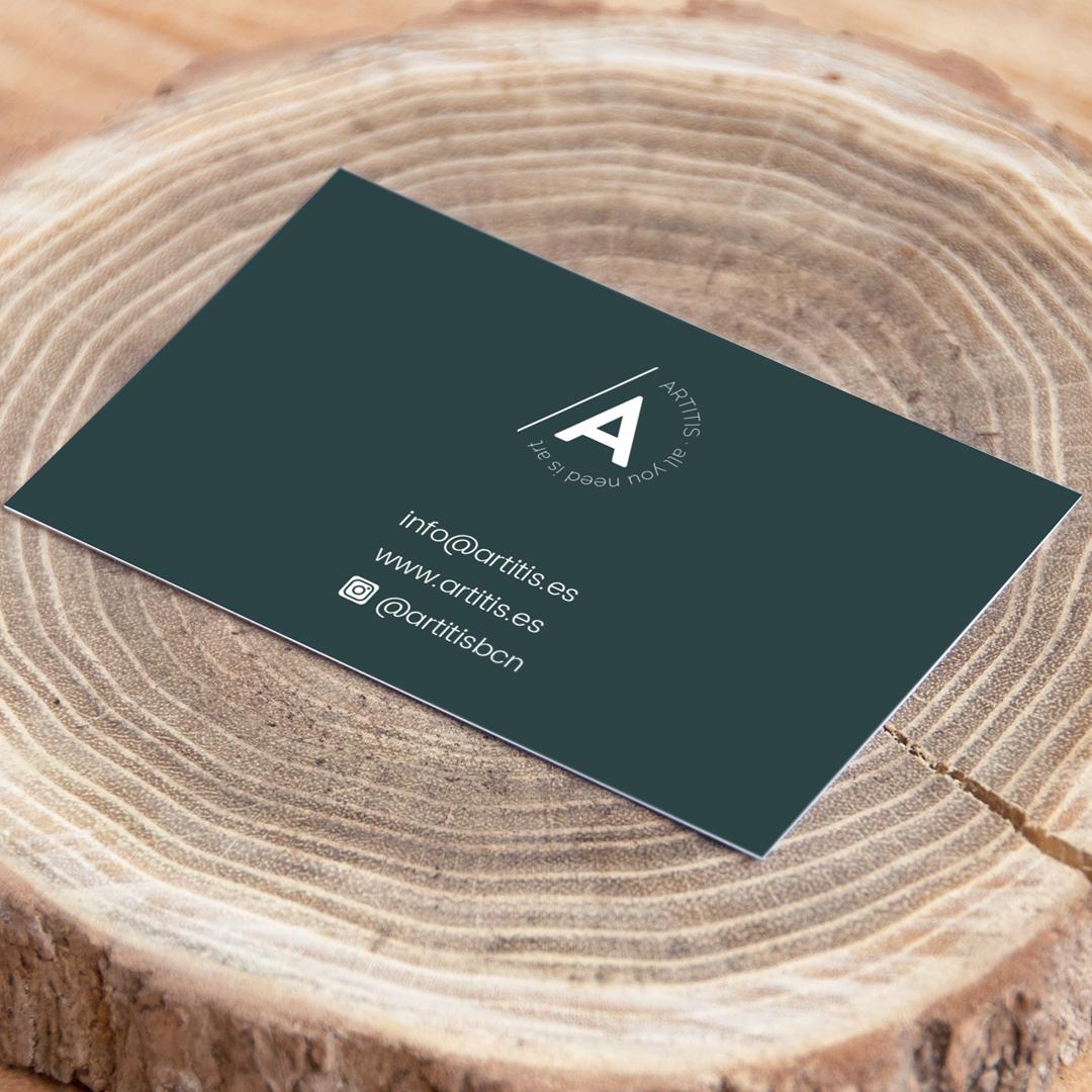 Tarjetas de visita para Artitis